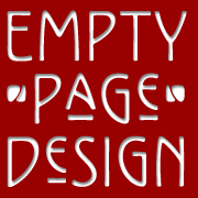 Empty Page Web Design